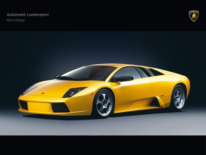 Lamborghini Murcielago 2006 вид спереди в три четверти