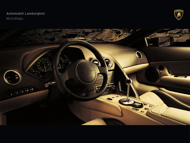 Кокпит Lamborghini Murcielago 2006