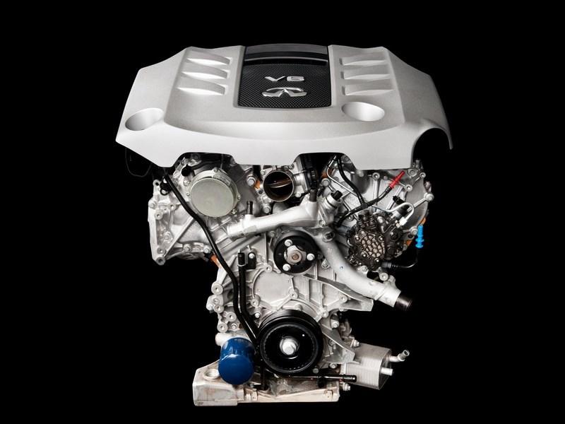 Infiniti представила прототип нового битурбированного V6