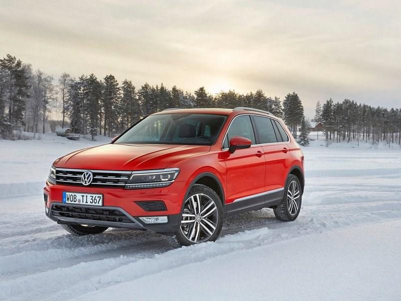 Сборку нового кроссовера VW Tiguan, сборка будет осуществляться в Калуге.