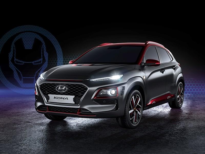 Hyundai Kona получил новую спецверсию Фото Авто Коломна