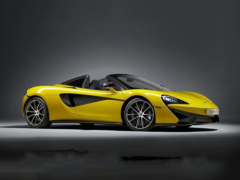McLaren 570S стал родстером