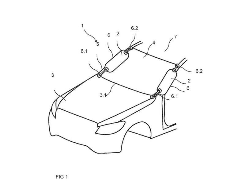 Daimler запатентовал подушки безопасности для пешеходов