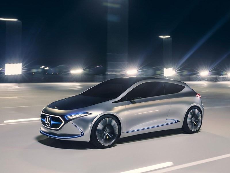 Mercedes-Benz представил свой ответ BMW i3 и VW I.D.