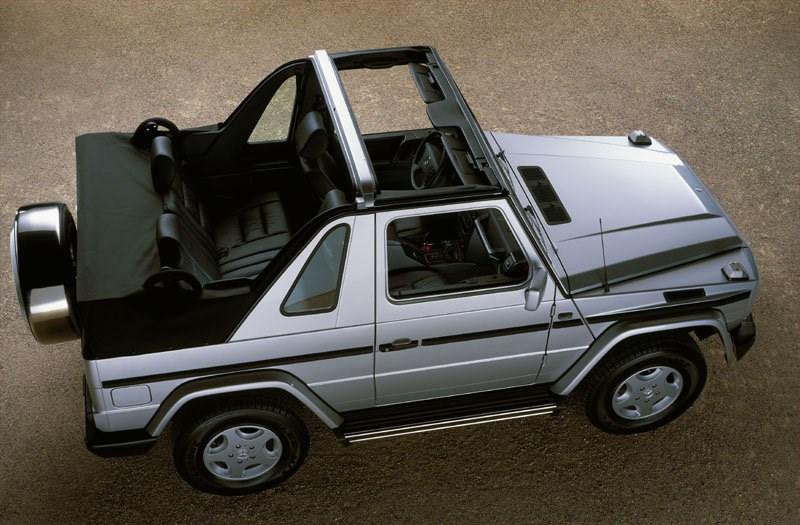 Mercedes-Benz подумывает о выпуске кроссовера с открытым верхом