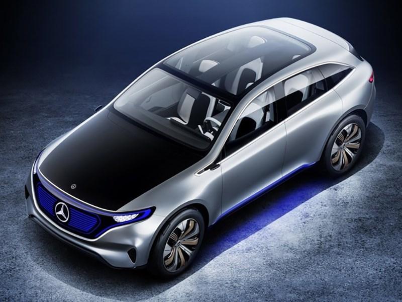 Mercedes Benz назвал дату премьеры электрического кроссовера Фото Авто Коломна