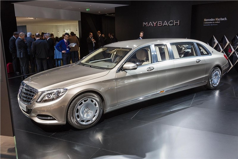 Mercedes-Maybach S-class пользуется высокой популярностью в КНР
