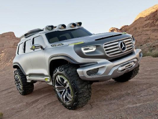Mercedes-Benz продемонстрировал внедорожник для полиции будущего
