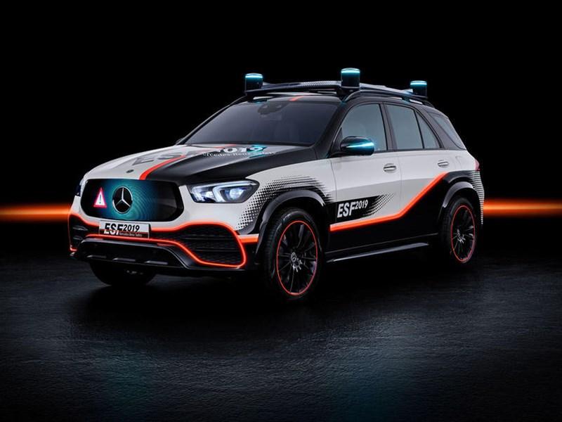 Mercedes-Benz показал самый безопасный автомобиль