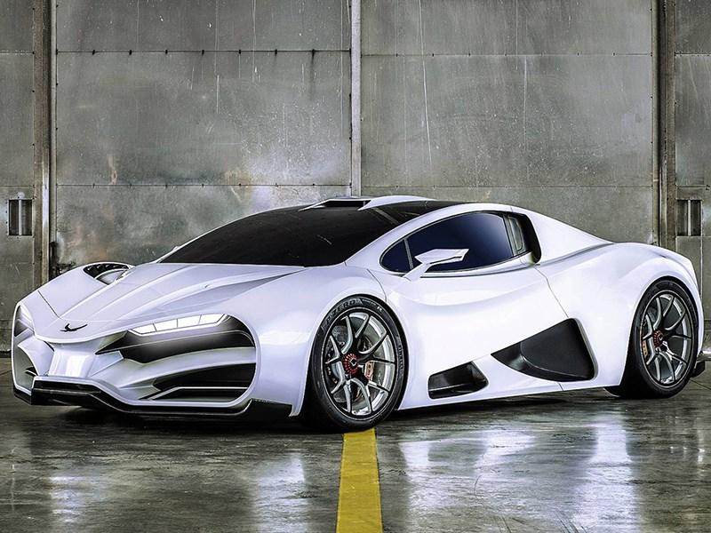 В Австрии сделали суперкар с российским дизайном