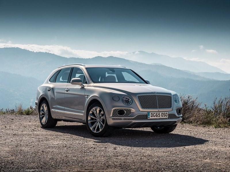 Продажи Bentley в России продолжают расти