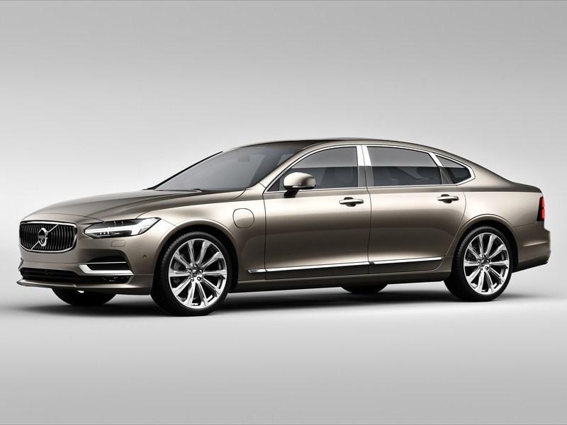 Вольво рассекретила более роскошные версии седана S90