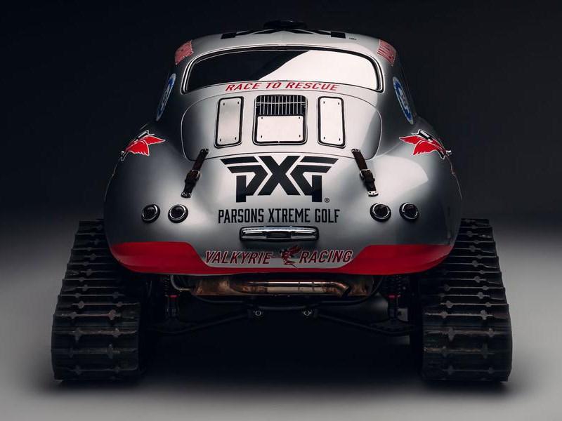 Классический Porsche превратили во внедорожник для полярников