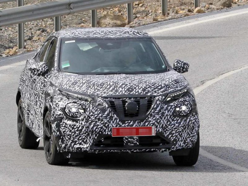 Новый Nissan Juke потеряет во внешности, но прибавит в просторе Фото Авто Коломна