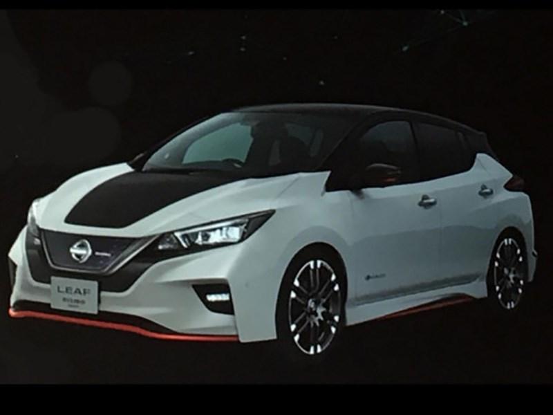 Nissan анонсировал появление Leaf Nismo