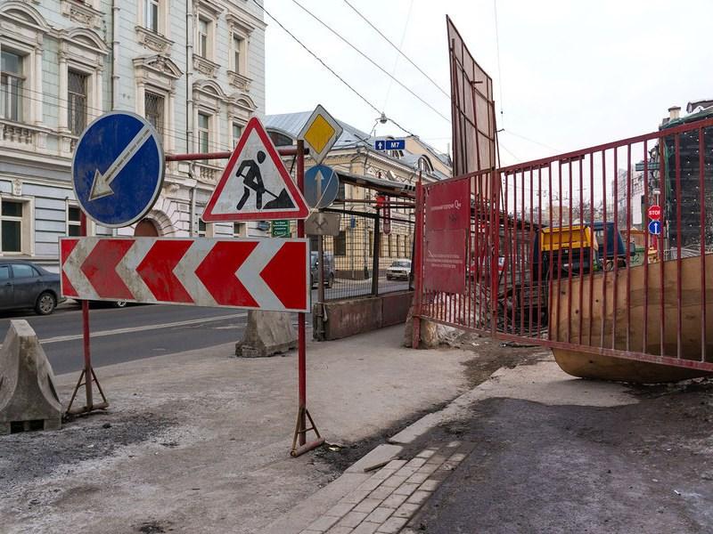 До 2019 года в Москве будет реконструировано 300 км дорог