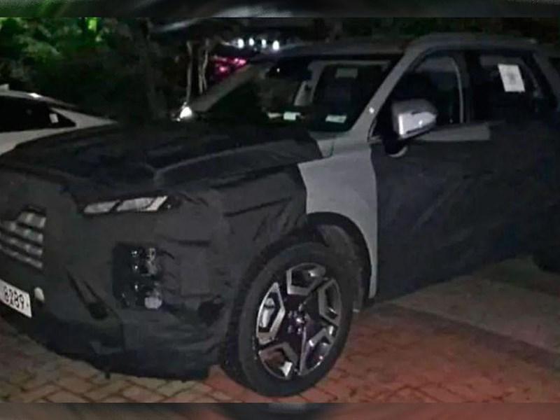 Замечен обновленный Hyundai Palisade