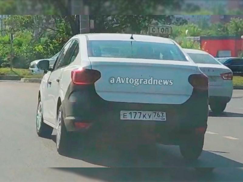 В Тольятти обнаружили новый Renault Logan