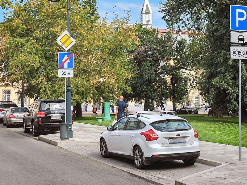 В центре Москвы увеличат число платных парковок