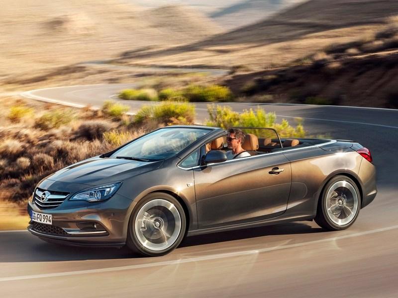 Cascada – первый среди кабриолетов Opel