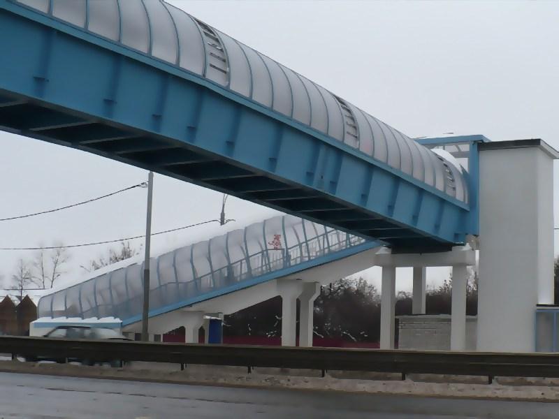 В Москве построят новые пешеходные переходы