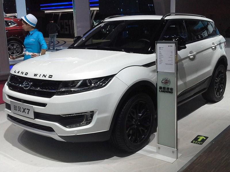 Land Rover обвиняет компанию Jiangling Motor в копировании дизайна Range Rover Evoque