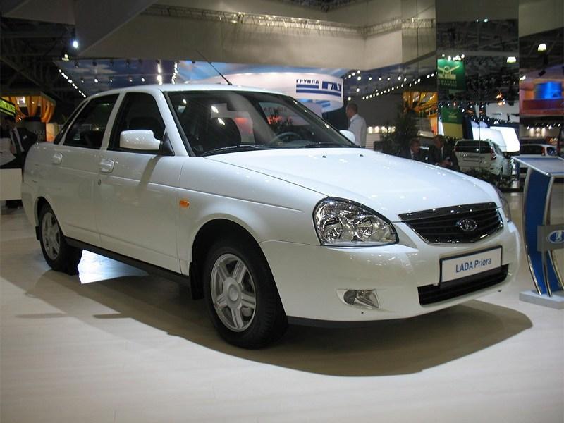 Lada Priora – самая продаваемая машина в РФ