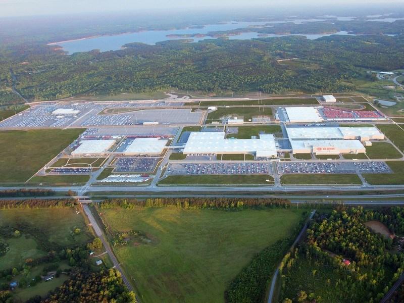 Kia озеленила около 3,5 млн квадратных метров площади вокруг своих заводов