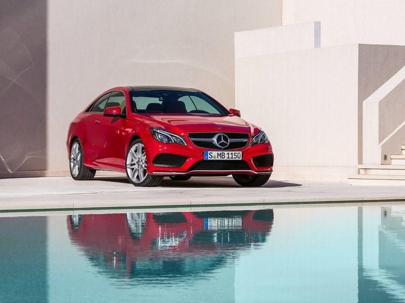 Стали известны подробности нового купе Mercedes-Benz E-Class