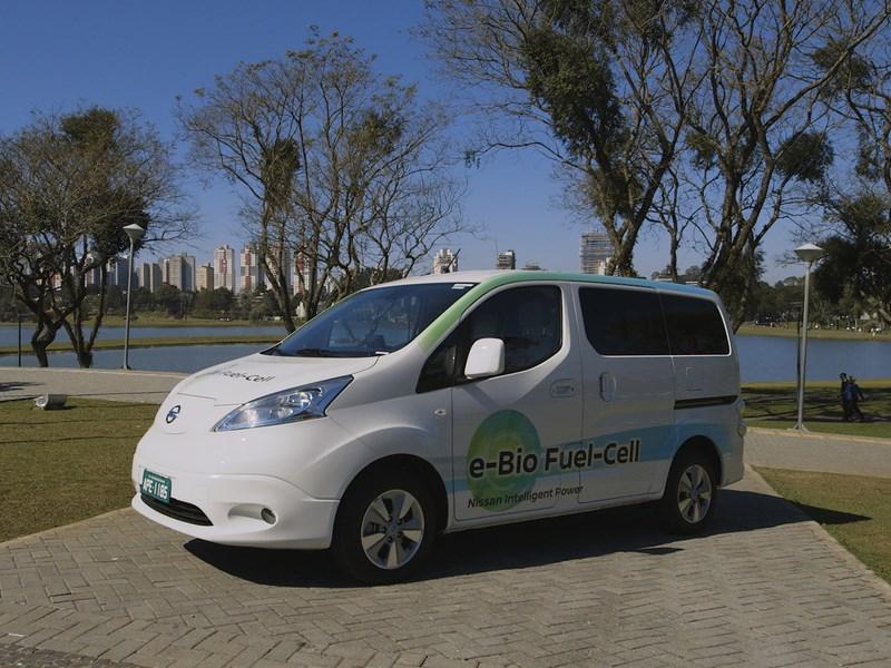 Nissan показал прототип на твердооксидных топливных элементах