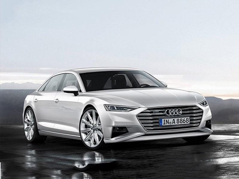 Новая Audi S8 получит двигатель от Porsche Panamera