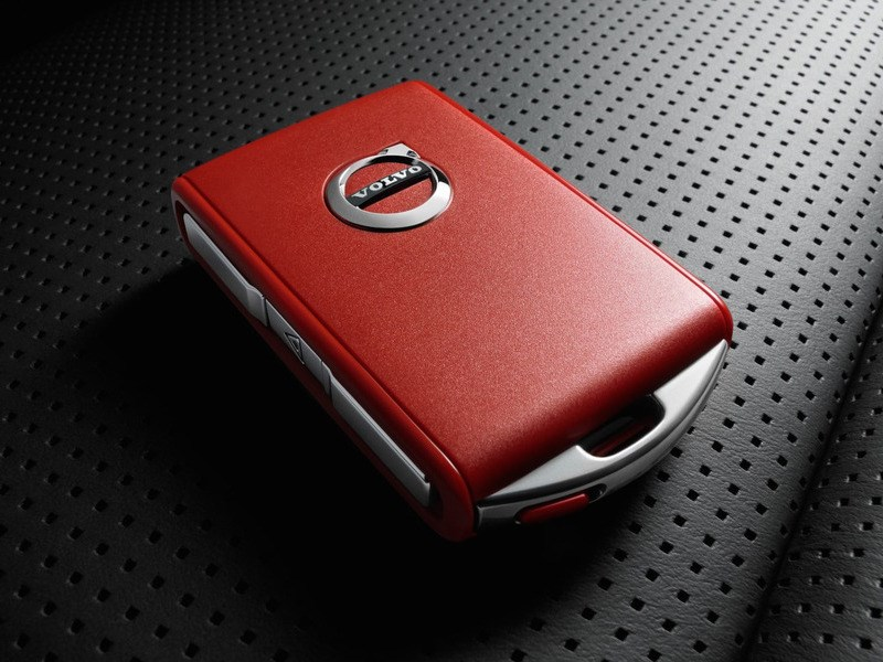 Volvo представила новую систему под названием «Red Key»