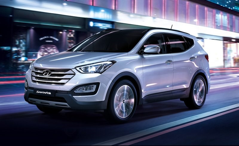 Обновленный кроссовер Hyundai Santa Fe уже в продаже