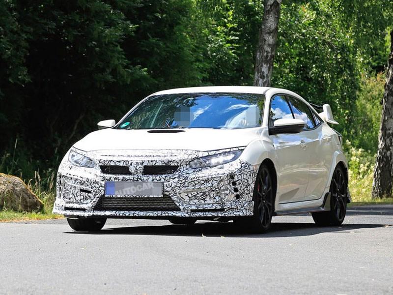 Honda готовит обновление самого крутого Civic