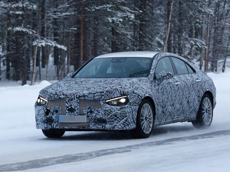Mercedes-Benz CLA получит новую платформу