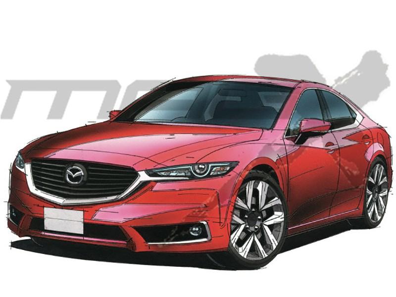 Mazda 6 нового поколения создадут назаднеприводной платформе Toyota