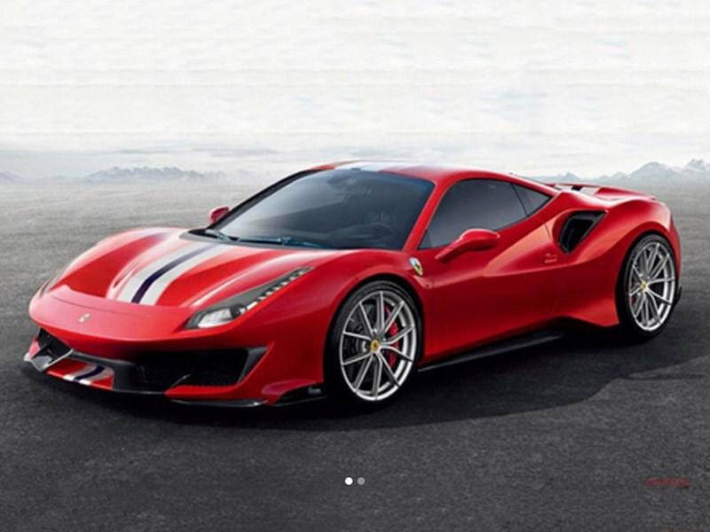 Pista — имя самой крутой версии Ferrari 488