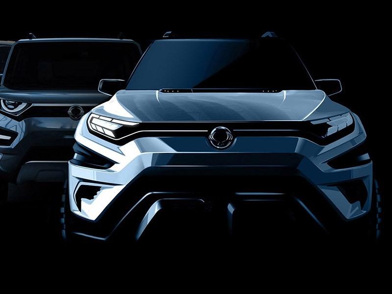 Дизайн следующего поколения SsangYong Rexton разработает Piinfarina