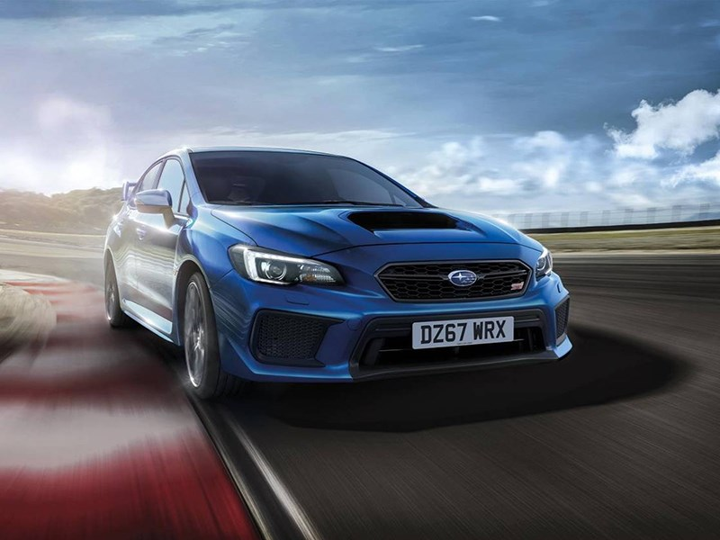 Subaru подготовила прощальную версию WRX STI