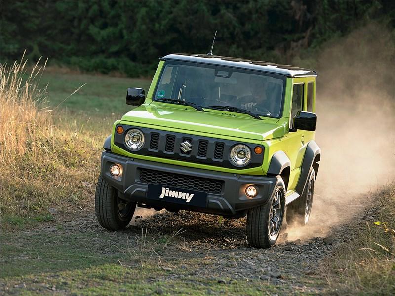 Новый Suzuki Jimny - Suzuki Jimny 2019 Уникум