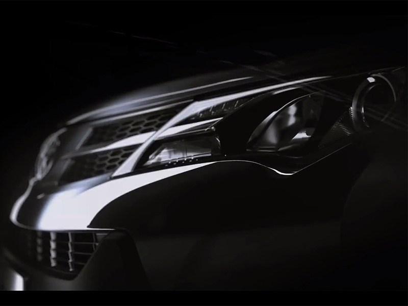 Toyota показала тизер с новым RAV4