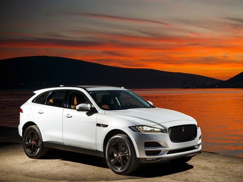 В июне в России начнутся продажи кроссовера Jaguar F-Pace
