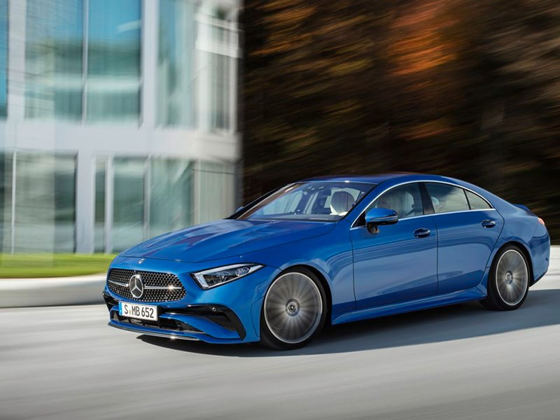 В Россию приехал новый Mercedes CLS