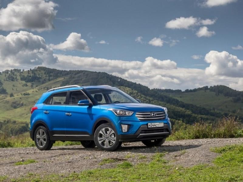 Hyundai продал 100-тысячную Creta