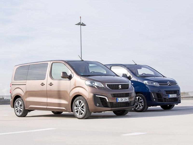 PSA привез в Россию минивэны Peugeot Traveller и Citroen SpaceTourer