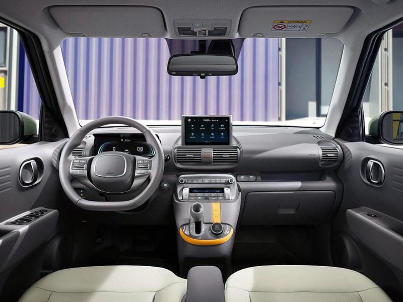 В Hyundai раскрыли интерьер модели Casper
