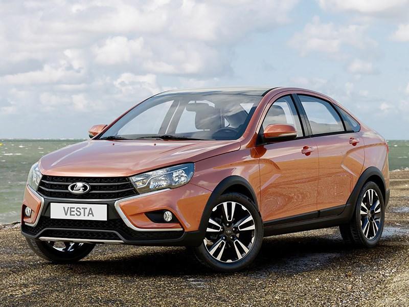 Волжский автомобильный завод сертифицировал внедорожную версию седана Лада Vesta