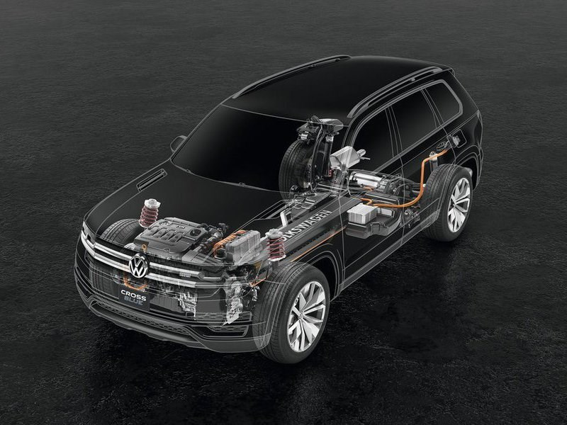 Volkswagen показал новый среднеразмерный кроссовер