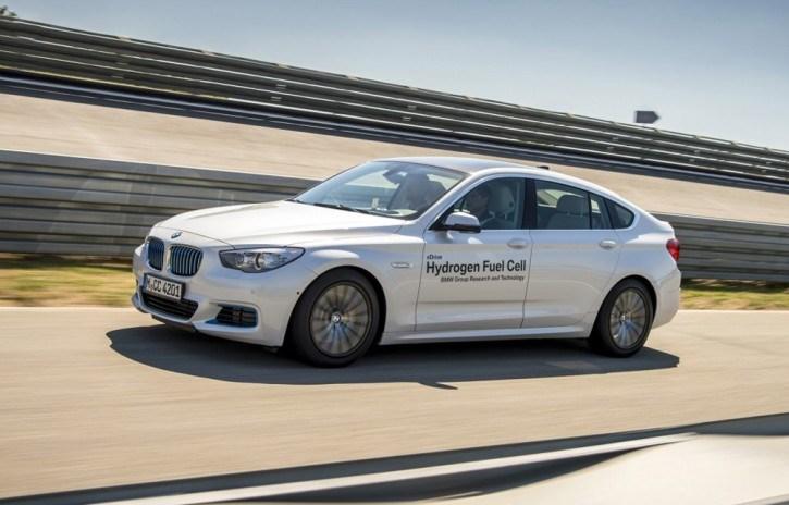 Компания BMW планирует выпустить собственный автомобиль на водородном топливе к 2020 году