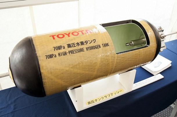 Toyota готова вывести свой первый серийный водородный автомобиль на рынок